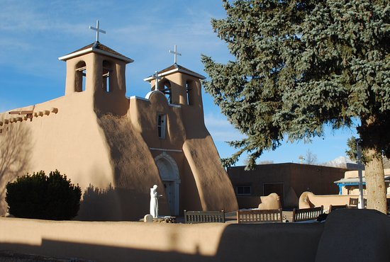 Ranchos De Taos, Нью-Мексико: The church