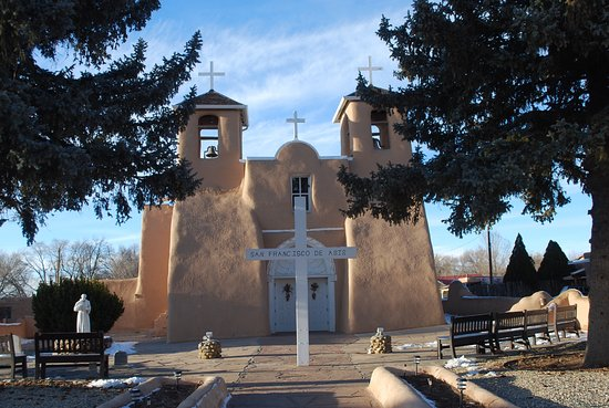 Ranchos De Taos, นิวเม็กซิโก: Most photographed church in New Mexico? There are so many!