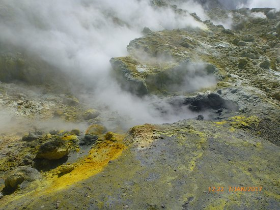 Whakatane, Nueva Zelanda: Sulphur