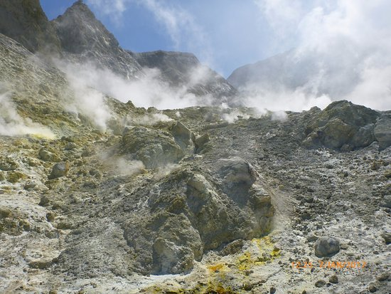 Whakatane, Nueva Zelanda: Steam