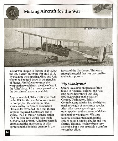 Vancouver, WA: Page about Making Aircraft for the War
