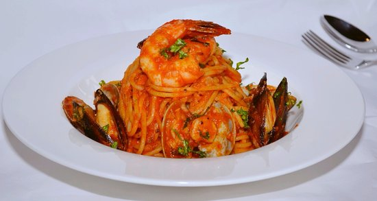 Kuriyama-cho, Japón: Spaghetti Fruit Di Mare...