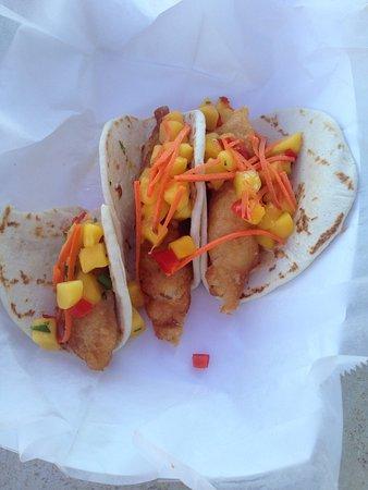 Pawleys Island, SC: fish tacos were so yummy