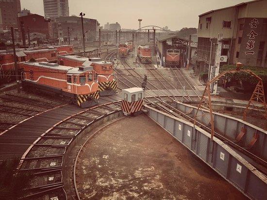 Changhua, Taiwan: 扇形車庫