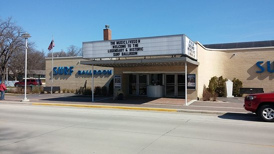Clear Lake, IA: Exterior shot, the day we visited.