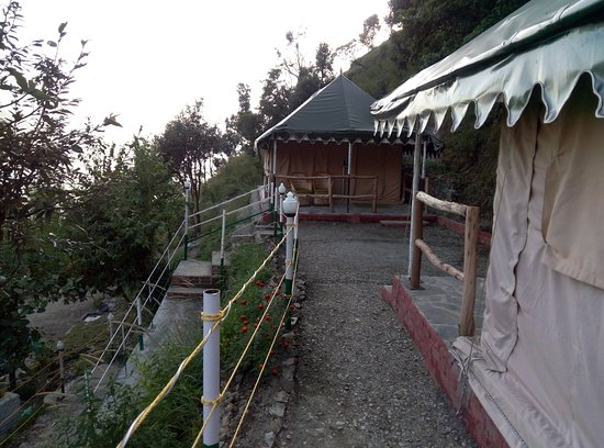 Nature Drops Swiss Cottage Tents & Swiss Cottage Tents - Picture of Nature Drops Nainital - TripAdvisor