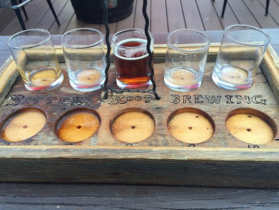 Hamilton, MT: Sampler Tray After....