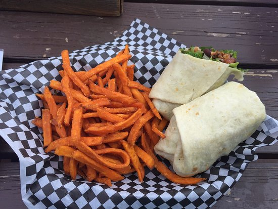 Hamilton, MT: Crispy Fish Wrap