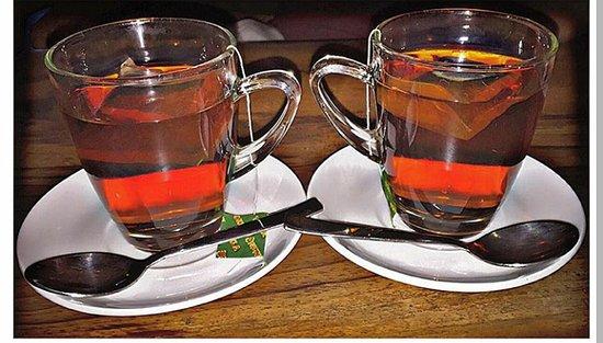 black milk tea icecream and nepali milk tea picture of organic java pokhara