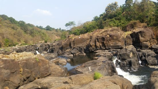 Pathanamthitta, India: A view of rocks