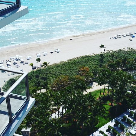 The St. Regis Bal Harbour Resort: View from on of our connecting suite. We had two suites connecting.