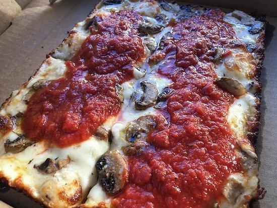 Best Pizza in Morgantown - Detroit Style!