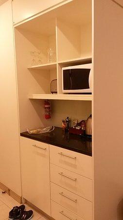 CityLife Wellington: Kitchen in studio room