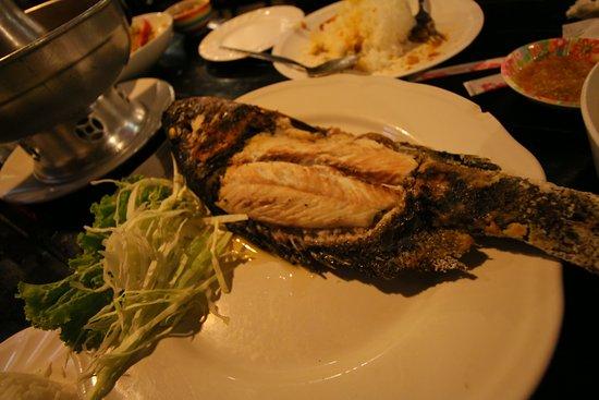 Pak Nam, Thailand: Grilled fish