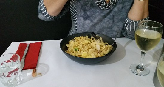 East Maitland, Avustralya: Seafood pasta