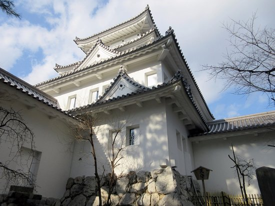 Ogaki, Japón: 鎮守の鬼瓦があります。
