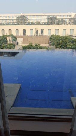 Trident, Gurgaon: Вид из окна номера