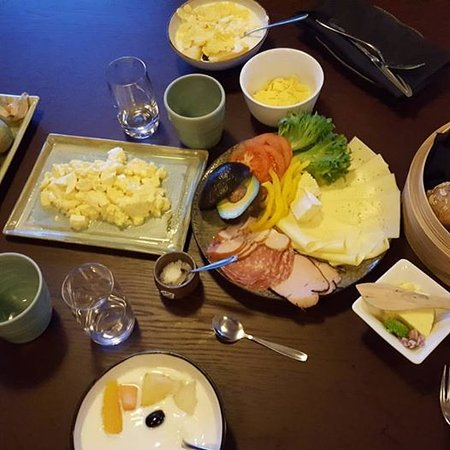 Nacka, Sweden: This was our breakfast!