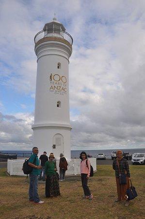Mercusuar ANZAC di sekitar Kiama Blowhole