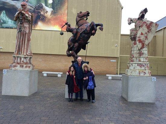 Warner Bros. Studio Tour London - The Making of Harry Potter: Entrance to Harry Potter world