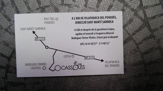 Pacs del Penedes, Spain: Cal Cassoles