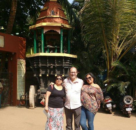 Goa - Chitra: The entrance