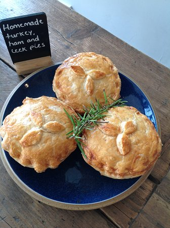 Ditchling, UK: Delicious home made pie of the day ...