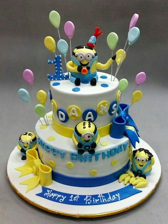 Deliciae Patisserie Kids Birthday Cake
