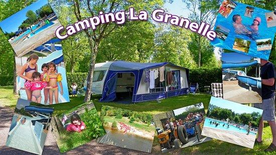 Le Bugue, France: Vive les vacances au camping de la granelle en dodogne au bugue sur vézère en Périgord noir