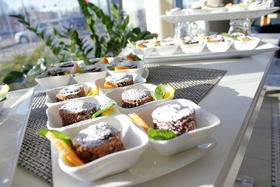 Green Park Hotel Klaipeda: Coffee break
