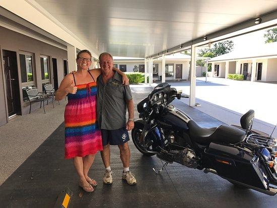 Miles, Austrália: Sikke en overraskelse at komme forbi sådan et sted her og så flot her er og sikke god mad Stuart