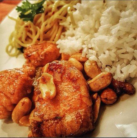 P.F. Chang's: Sesame and Kung Pao