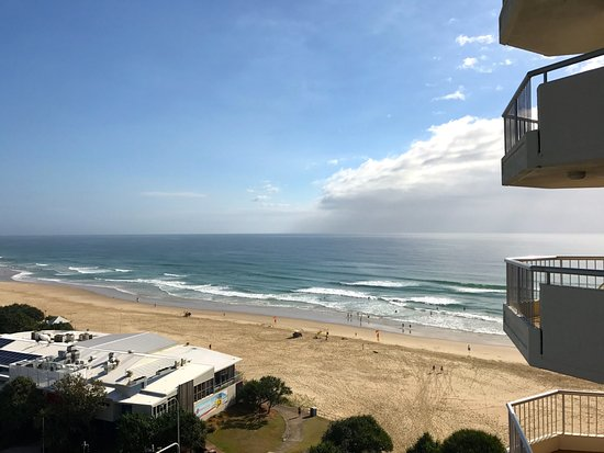 Coolum Beach, Australia: The view from the balcony