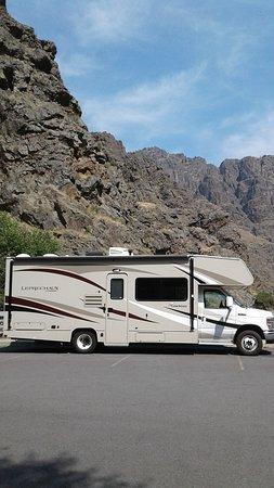 Hells Canyon National Recreation Area: Unser kleines Wohnmobil von Road Bear