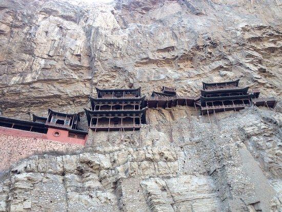 Hengshan Hanging Temple (Xuankong si): photo2.jpg