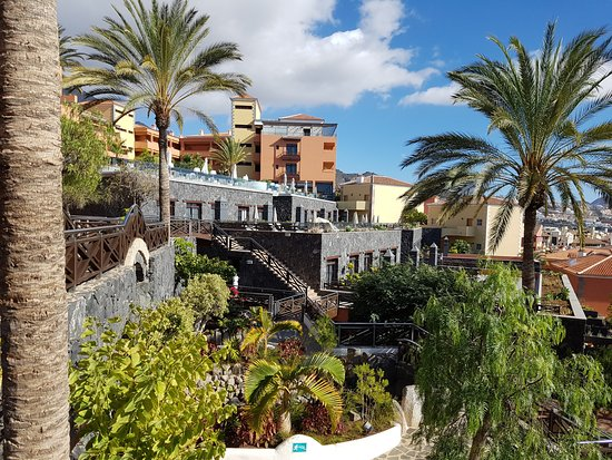 Immaculate hotel grounds picture of melia jardines del for Jardines del teide