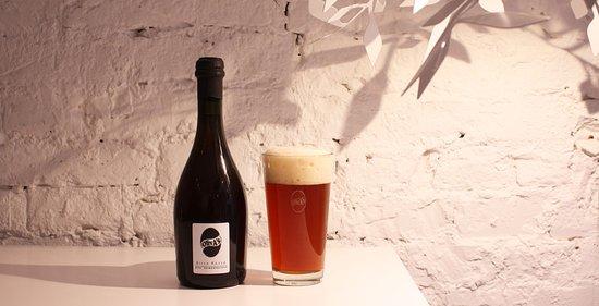 la Birra Rossa Agricola in alta fermentazione_OlivA's+COBI