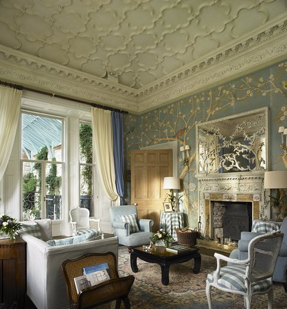 Castle Leslie Estate: The Blue Room in The Castle