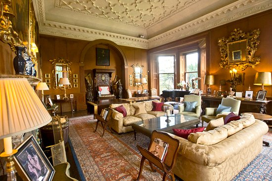 Glaslough, Irland: The Drawing Room in The Castle