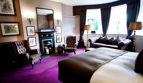 Glaslough, Irland: Desmonds Master Bedroom