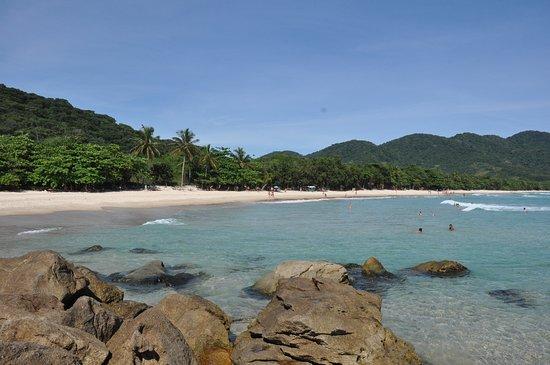 Lopes Mendes Beach: Vista a partir das pedras