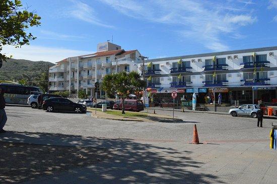 Joaquina Beach Hotel Entrada E Fachada Do