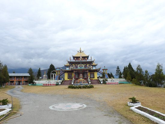 Bomdila, Indien: a view from the gate