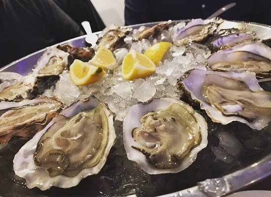 Thalassa Seafood Restaurant: The freshest of Oysters! So good!