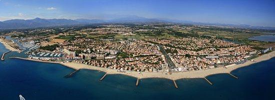 Saint-Cyprien, Γαλλία: saint cyprien :belle  station balneaire catalane