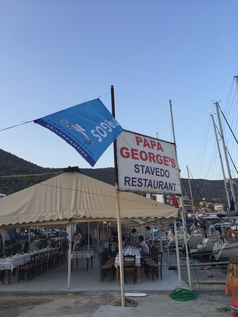 Korfos, Greece: Stavedo Restaurant