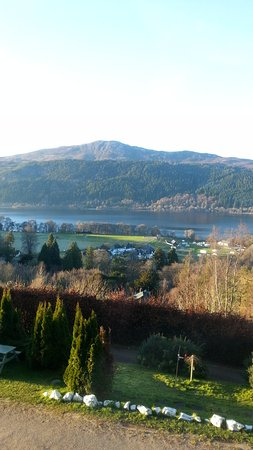 Foyers, UK: Loch Ness view from room 4