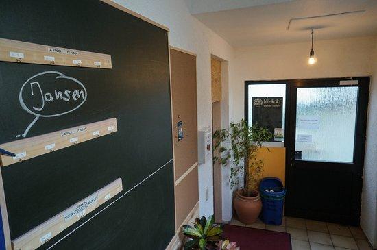 Hilles Hostel Trier: lobby