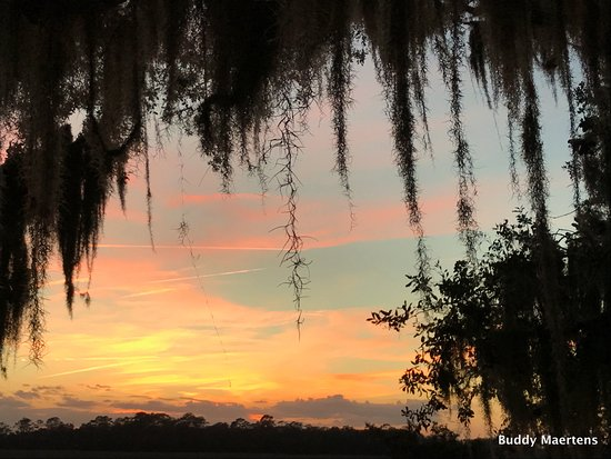 The Lodge on Little St. Simons Island: Gorgeous sunset taken one hundred yards from where we stayed