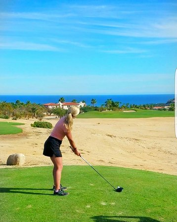Palmilla Golf Club: Ready to rock this ball!